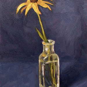 Black Eyed Susan in Bottle