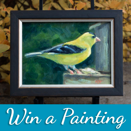 win an oil painting